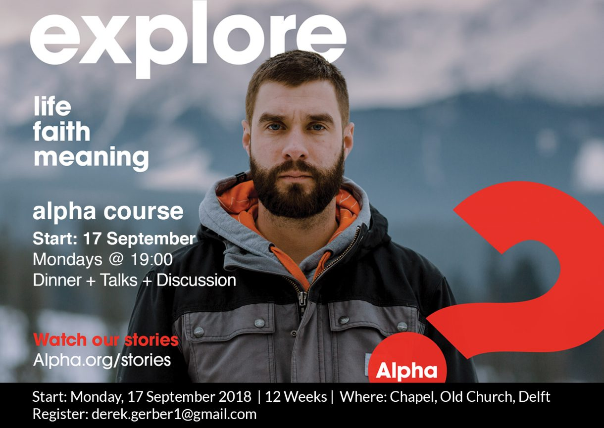 Alpha course-poster