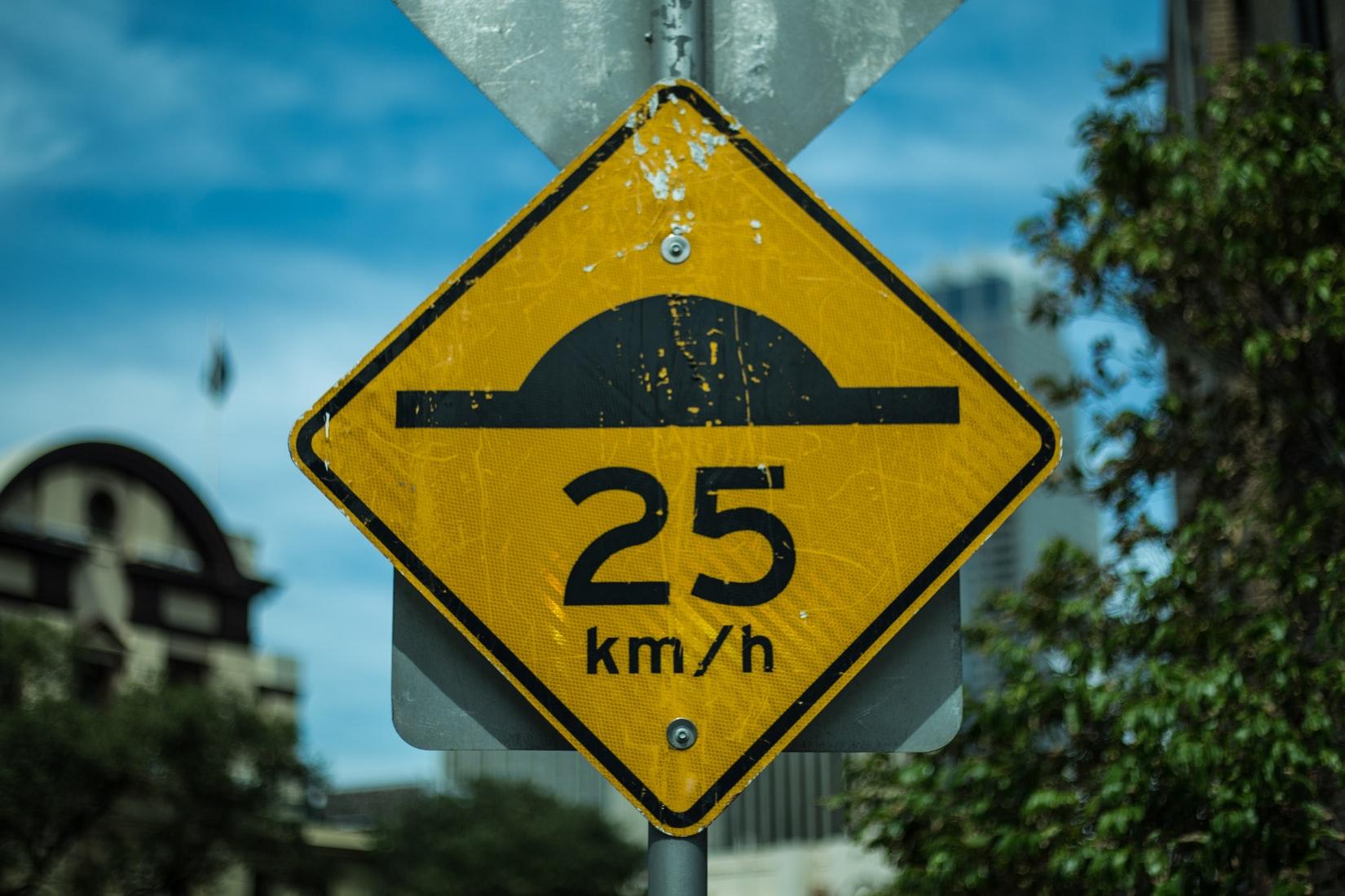 Speedbump ahead